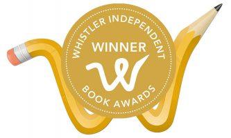 Whistler Writers Festival logo with awards badge