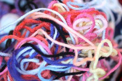 tangled yarn ball of feelings