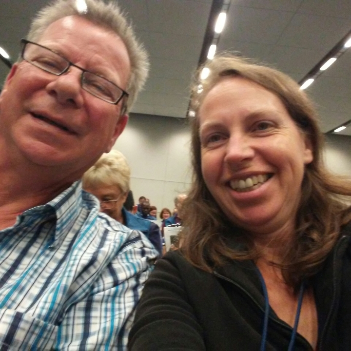 Neil and Sheila at Toastmasters 2017 International Convention